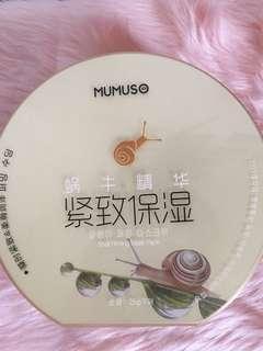 Mumuso Snail Firming Mask Pack