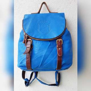 PELLE BORSA SYNTHETIC LEATHER BAGPACK