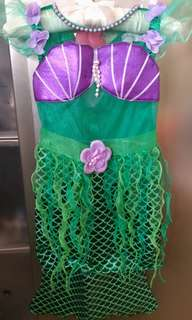 The Little mermaid 小魚仙 cosplay (4-5Y)