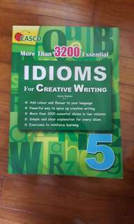 Casco IDIOMS for Creative Writing