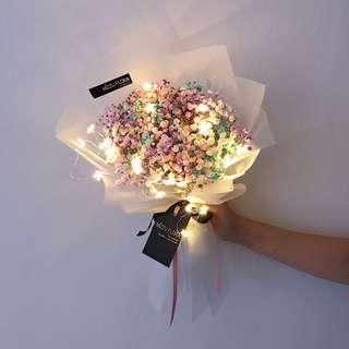 Graduation Flower | Baby's Breath Flower Bouquet | Fresh Flower