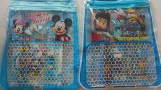 Goodie bag - paw patrol & minnie and mickey