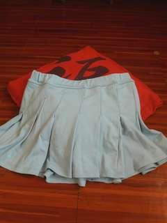 Skater skirt (light blue)💙