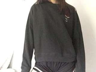 2pac rose embodied sweatshirt