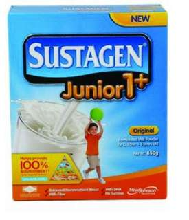 Sustagen junior 1+ original flavour 1-3 years old