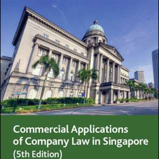 LGST201 Commercial Application of Company Law in Singapore (Victor Yeo)