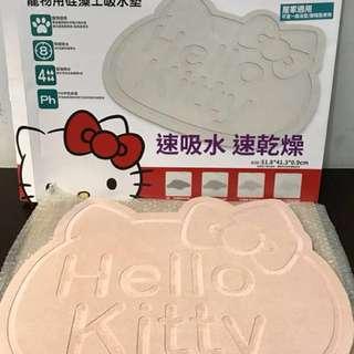 三麗鷗Hello KITTY 硅藻土吸水墊  (寵物用、居家也適用)
