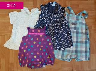 Set A 35pcs Pre-love kidswear prepacked 0-2t
