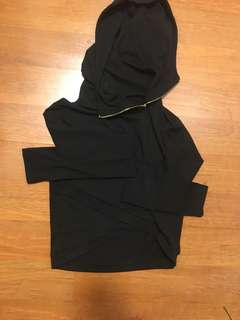 Fashion nova cropped long sleeve