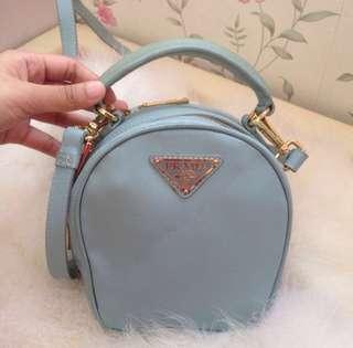 Authentic Prada Mini safiano bag with strap