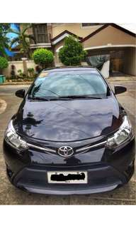 Car for Rent - 2015 Toyota Vios 1.3E AT