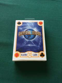 Universal Studios Playing Cards