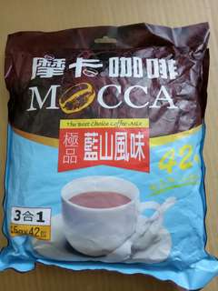摩卡咖啡 三合一咖啡沖泡包 42包入