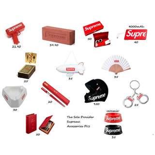 Supreme Accessories SS13-18 Pt.1