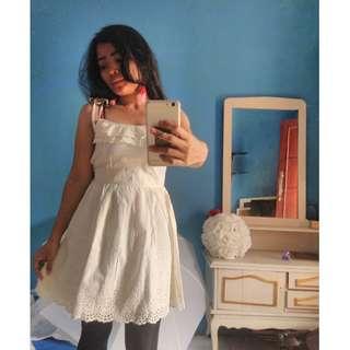Dress Import Renda size S Dewasa, Brand Cecil Mc Bee