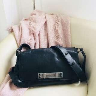 Zara Woman Black Lambskin Bag