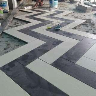 Pasang tiles dan plumber services