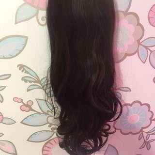 Kimiko Hair Flip/Rambut palsu/Semi Wig