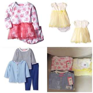 SALE 82% Off - 3 Sets $30. 18 Mths BNWT Designer Labels Brands Isaac Mizrahi, & Bonnie Baby,