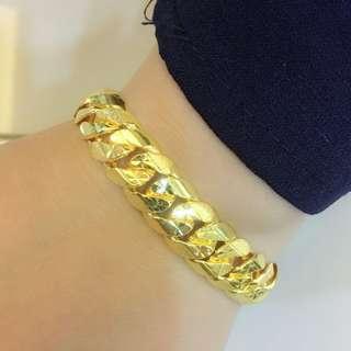Gold Bracelet 916