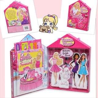 Barbie Dream Closet 芭比衣櫥圖書及場景集