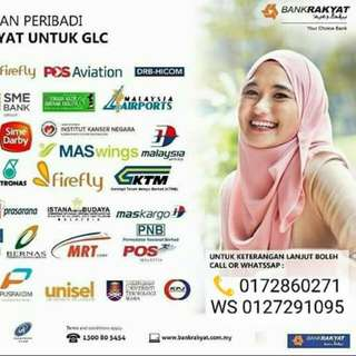 Personal loan bank rakyat
