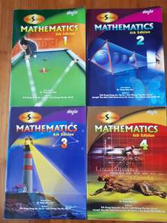 Shinglee Mathematics Textbooks 1-4