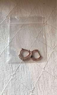 Septum clicker jewellery