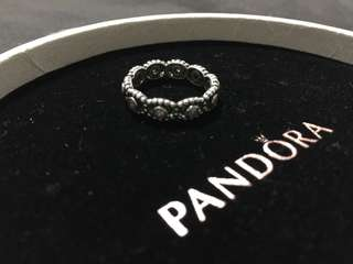 Pandora princess pink ring