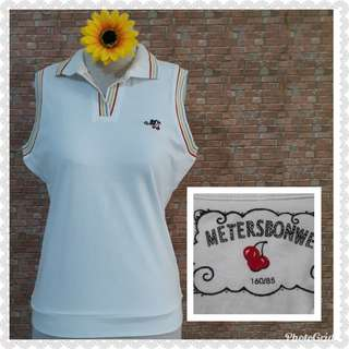 TENNIS SHIRT COTTON STRETCH S/M
