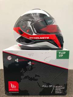 Branded Atom MT Helmet Sv Tarmac New