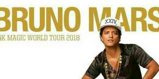 Looking for Bruno Mars Gen Ad or LB tix