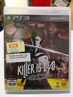 PS3 Killer Is Dead Premium Edition