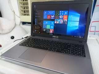 Asus core i7.1TAB. 15 inch.8gb ram. Windows 10b