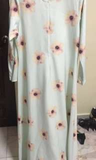Leeyanarahman jubah dress