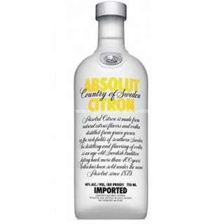 Absolut Vodka - Citron 絕對伏特加 - 檸檬味