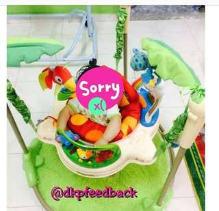 Rainforest Jumperoo With Carpet