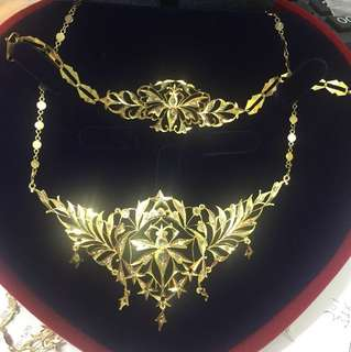Necklace intan tua