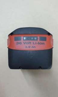 Hilti 3.9 大電池