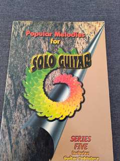 Series Five Popular Melodies For Solo Guitar