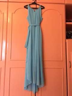 Pastel Blue gown