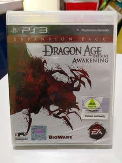 PS3 Dragon Age Awakening Origins