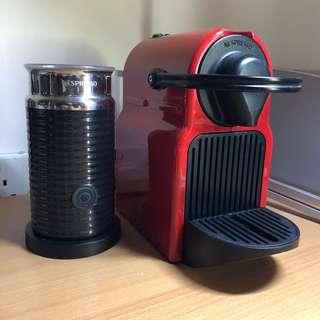 Nespresso Inissia & Aeroccino 3 Milk Frother