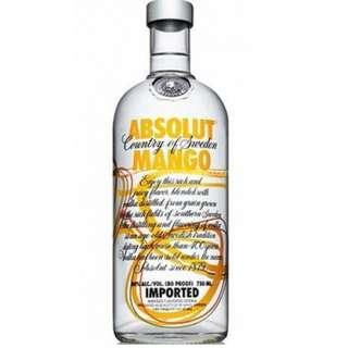 Absolut Vodka Mango 絕對伏特加 - 芒果味