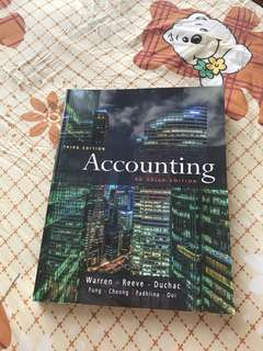 Third Edition Accounting Warren Textbook