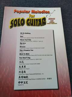Series Six Popular Melodies For Solo Guitar