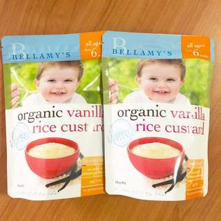 Bellamy's Organic Vanilla Custard