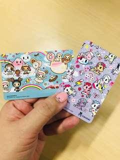 Tokidoki EzLink Cards