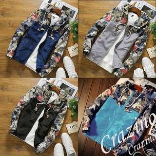 Slim Fit Jacket Casual Outerwear Windbreaker