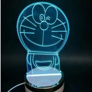 Doraemon LED Night Lamp !!! Ideal gift! Mood Setting!